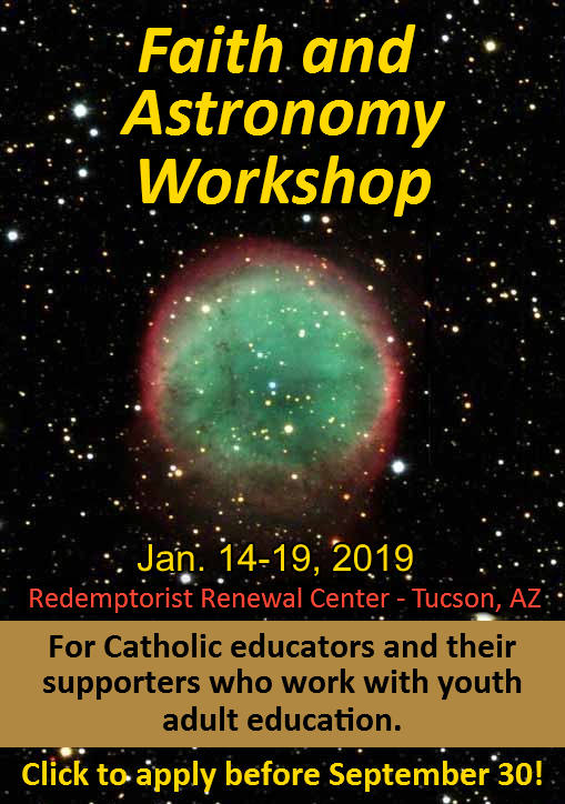 VOF 2019 Faith and Astronomy Workshop