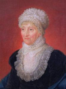 Caroline L Herschel born, 1750 (d. 1848).