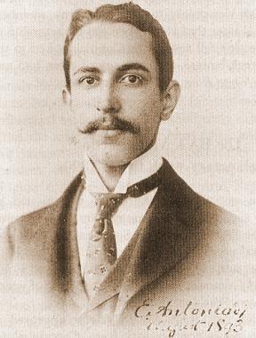 E. M. Antoniadi born, 1870 (d. 1944).