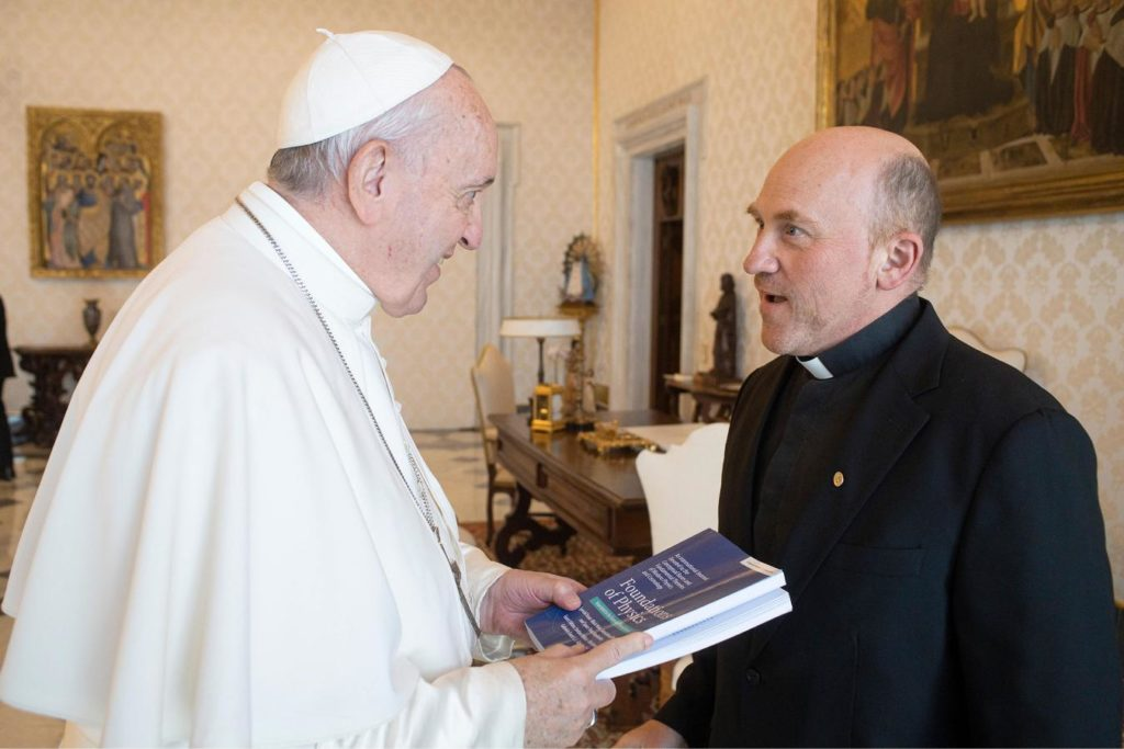 Pope Francis and Fr. Gabriele Gionti, SJ