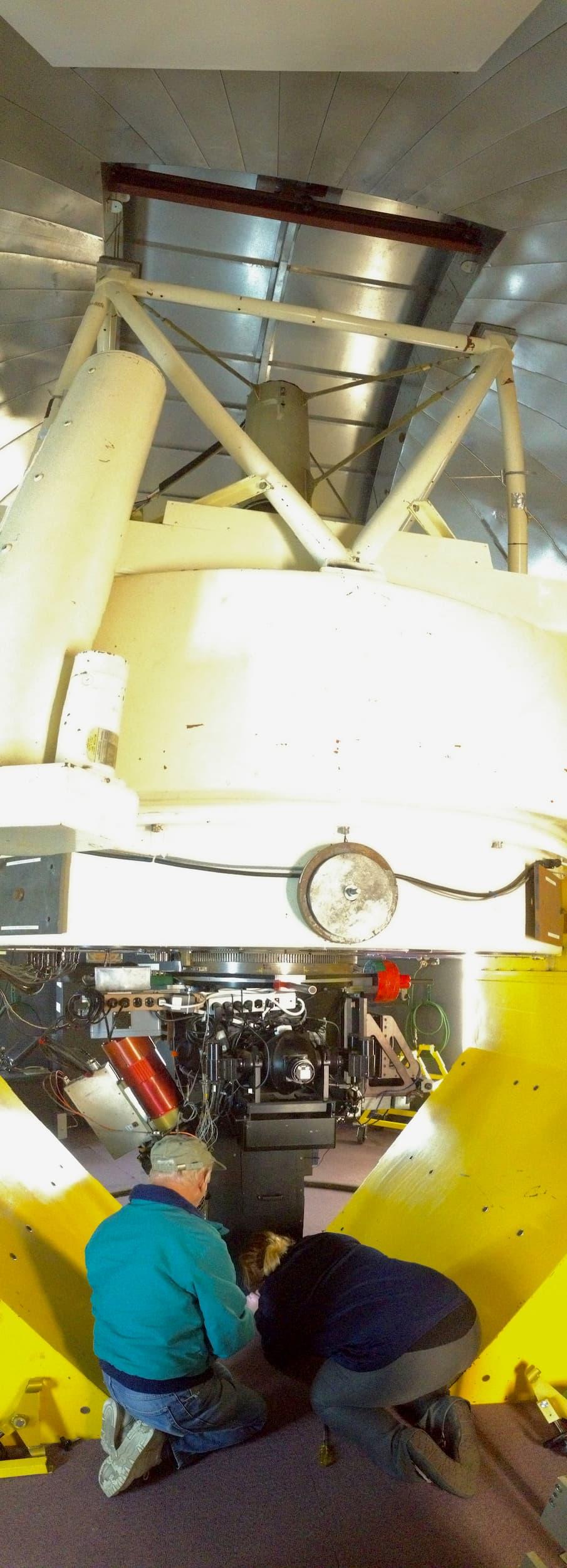 Boyle at the Vatican Advanced Technology Telescope (VATT)