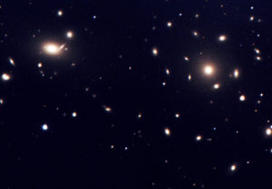 Galaxy Cluster Abell 1656, the Coma Cluster