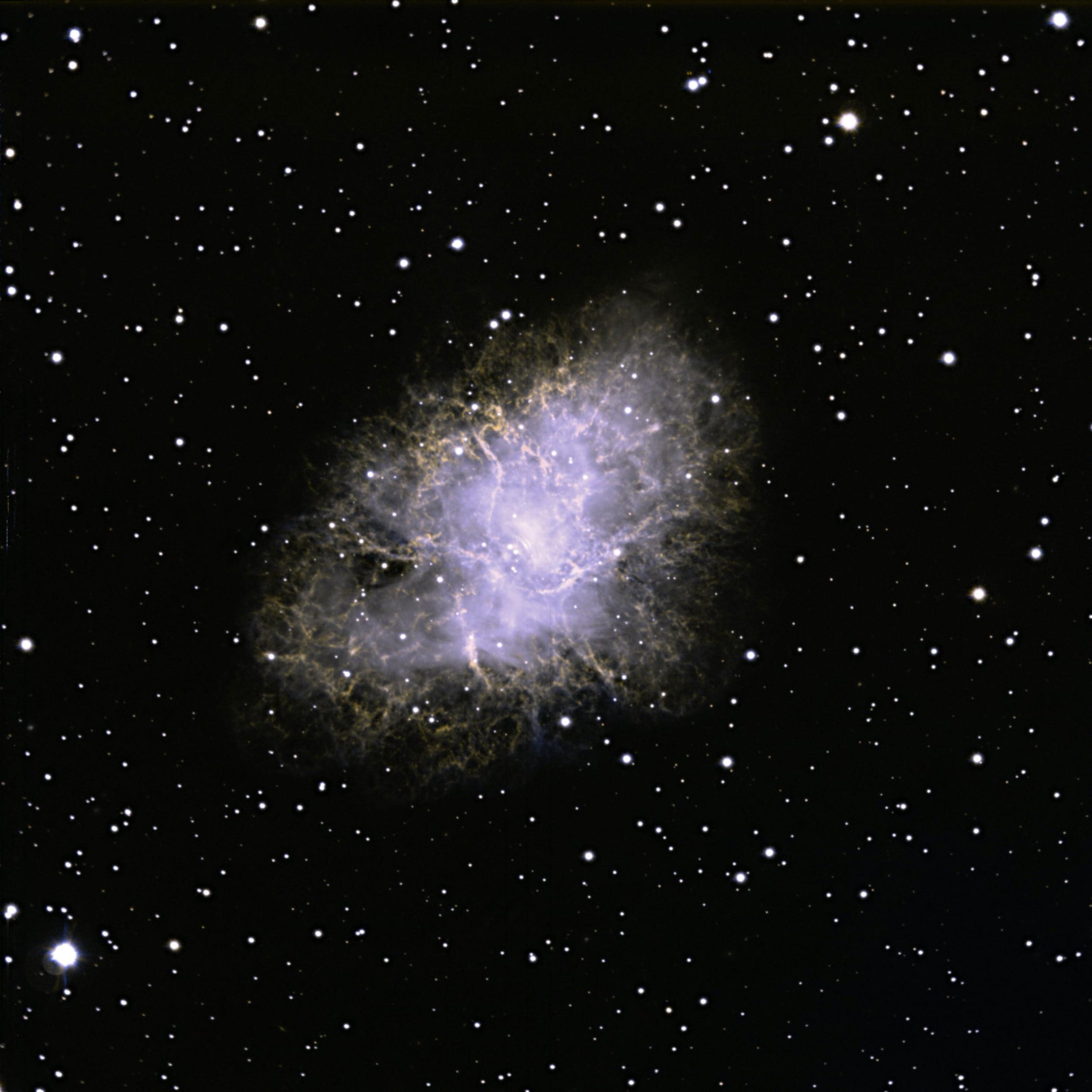 Supernova Remnant M1, the Crab Nebula