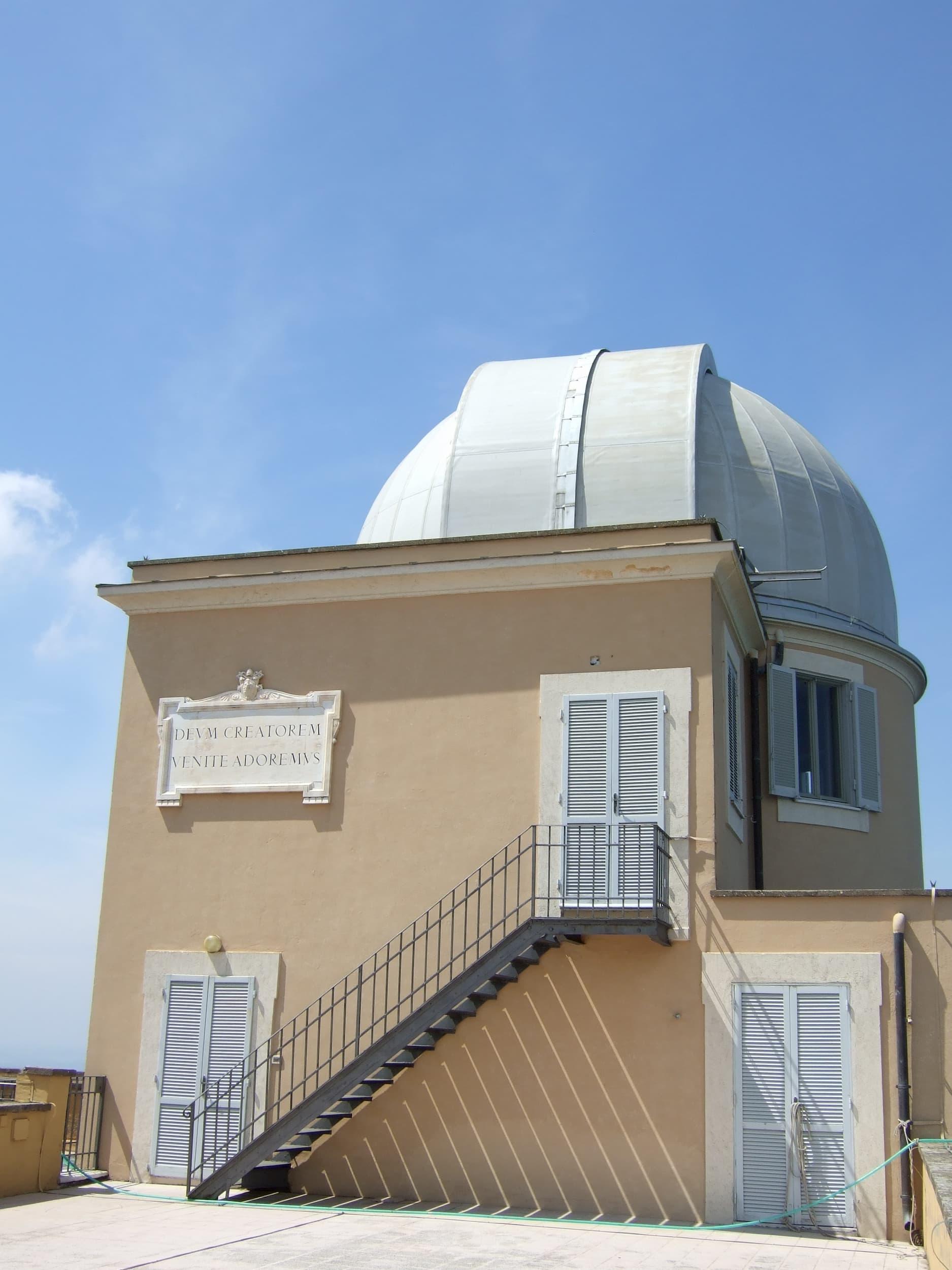 Double Astrograph Dome at Castel Gandolfo