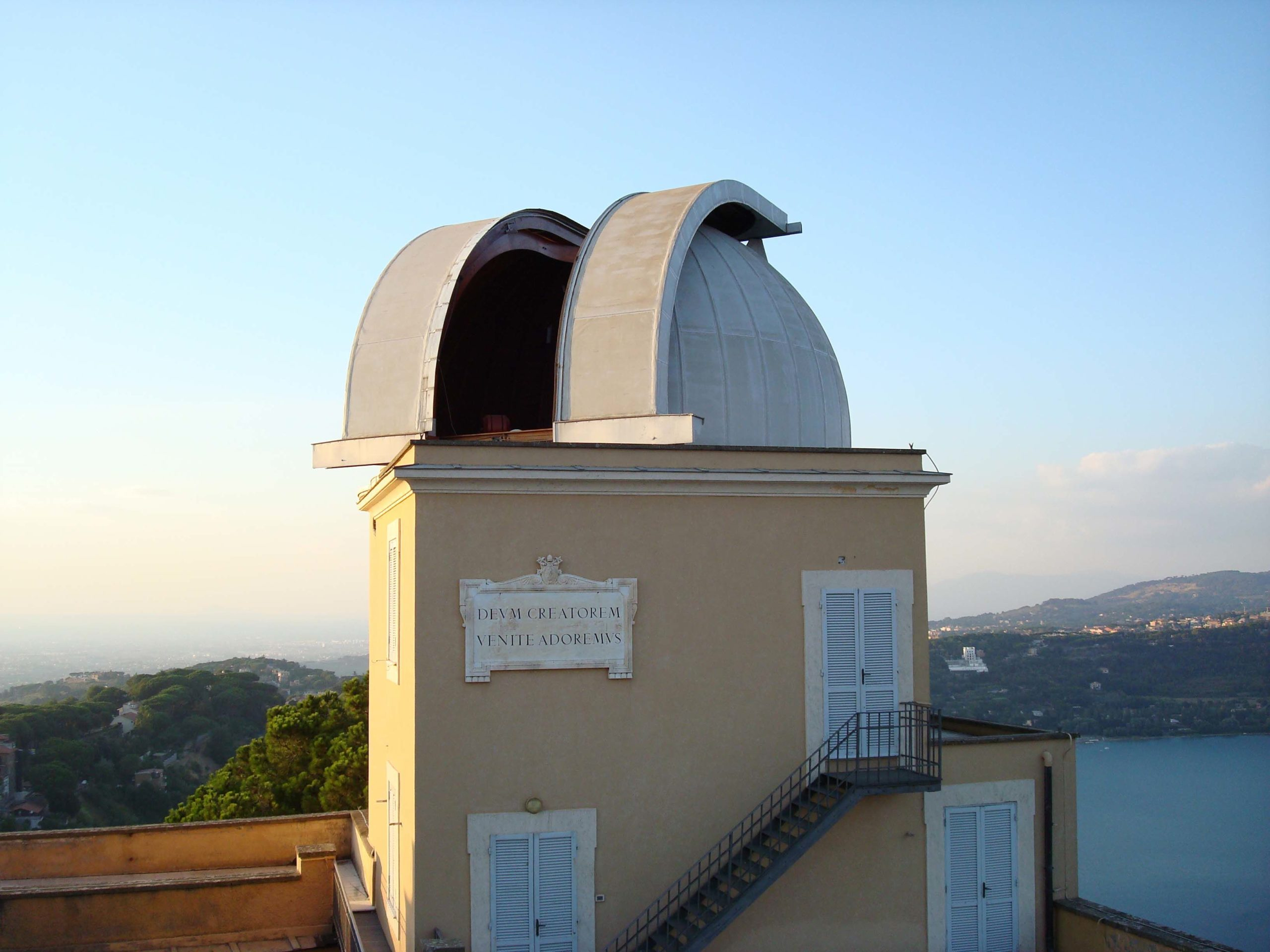 Double Astrograph Open Dome at Castel Gandolfo