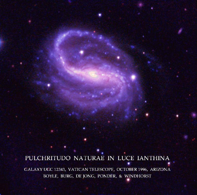 Galaxy UGC12343 in Ultraviolet