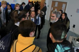Br. Guy J. Consolmagno, S.J. Visiting School in Dundee