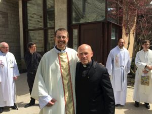 Ordination of Fr. Adam Hincks S.J., Toronto