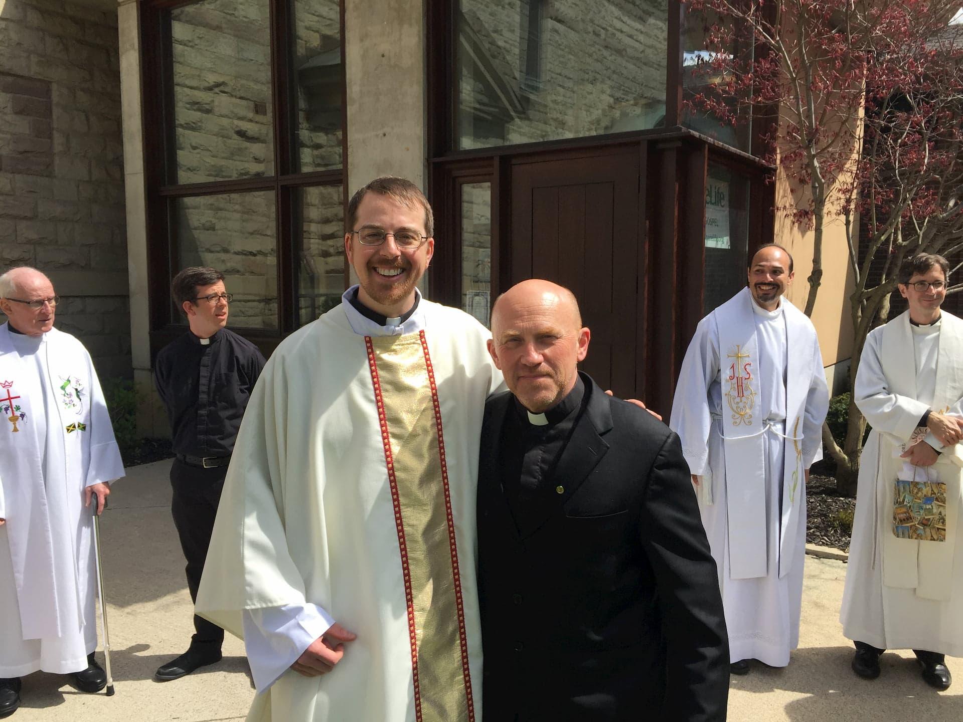 Ordination of Fr. Adam Hincks S.J., Toronto
