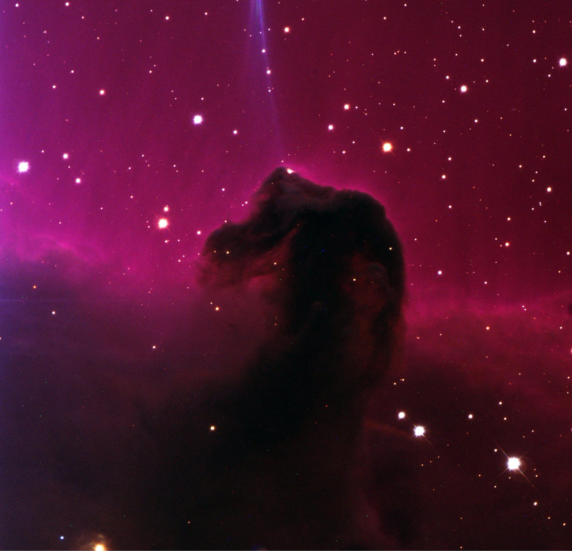 Dark nebula Barnard 33, the Horsehead Nebula
