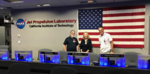 A visit by VOF members to JPL