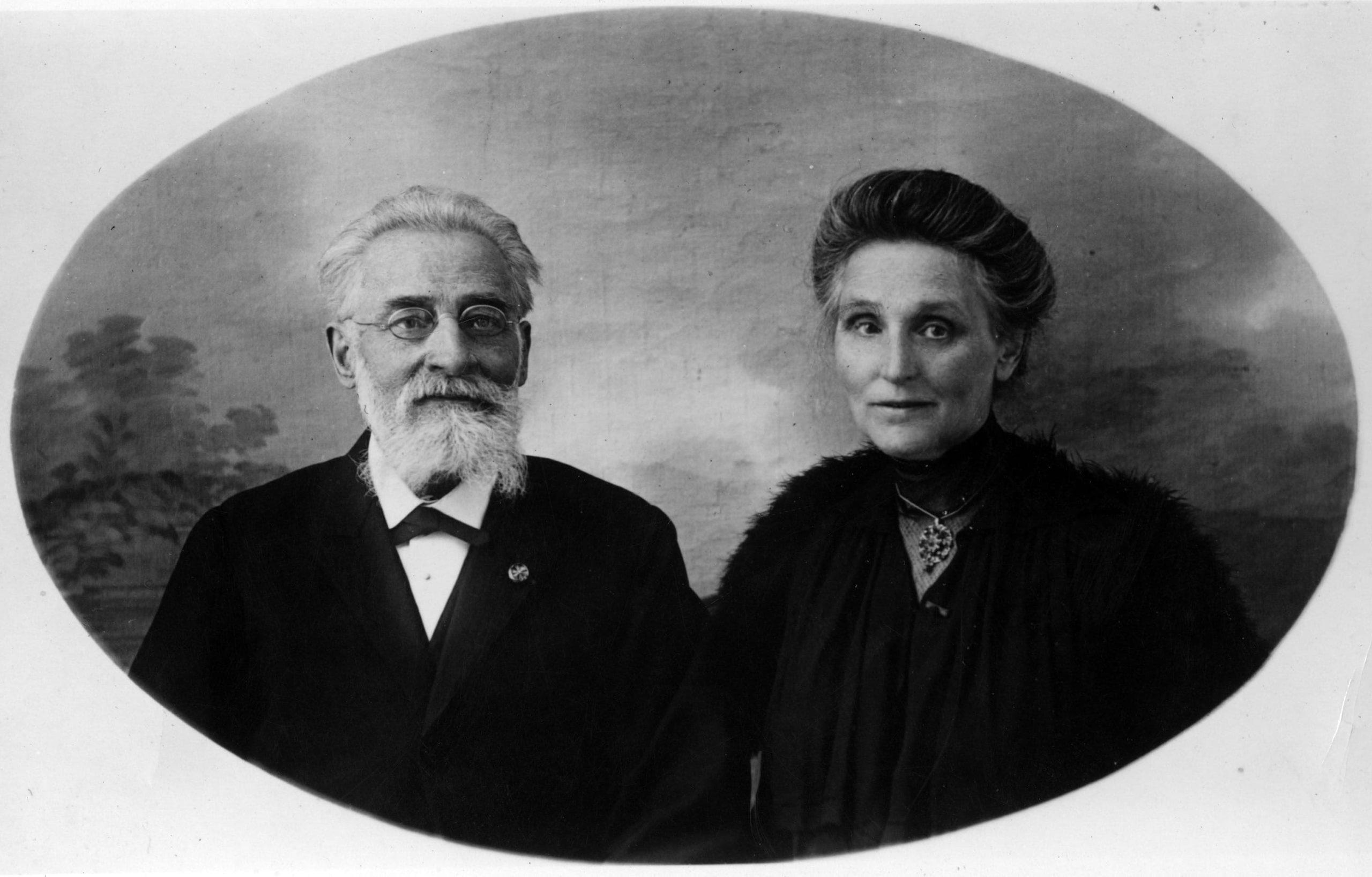 The Marquis de Mauroy and his wife, Marie Caroline Eugénie
