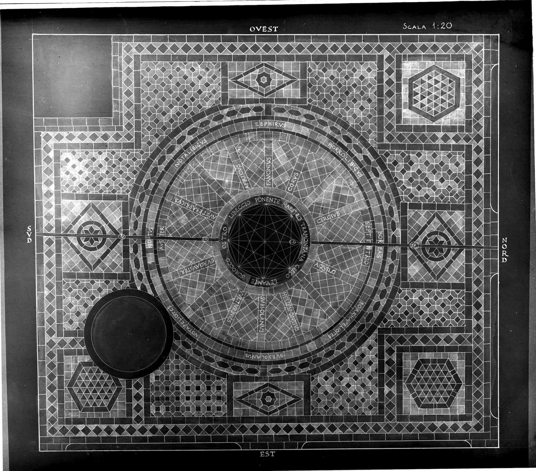The Floor of the Tower of the Winds