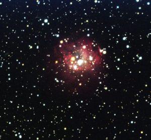Open cluster NGC 1624