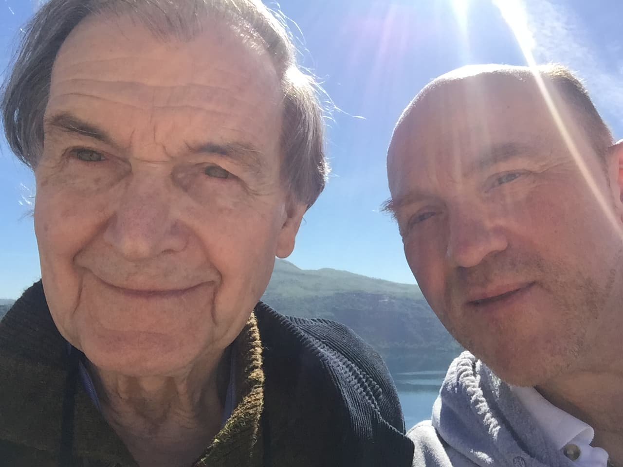 Roger Penrose and Fr. Gabriele Gionti, S.J