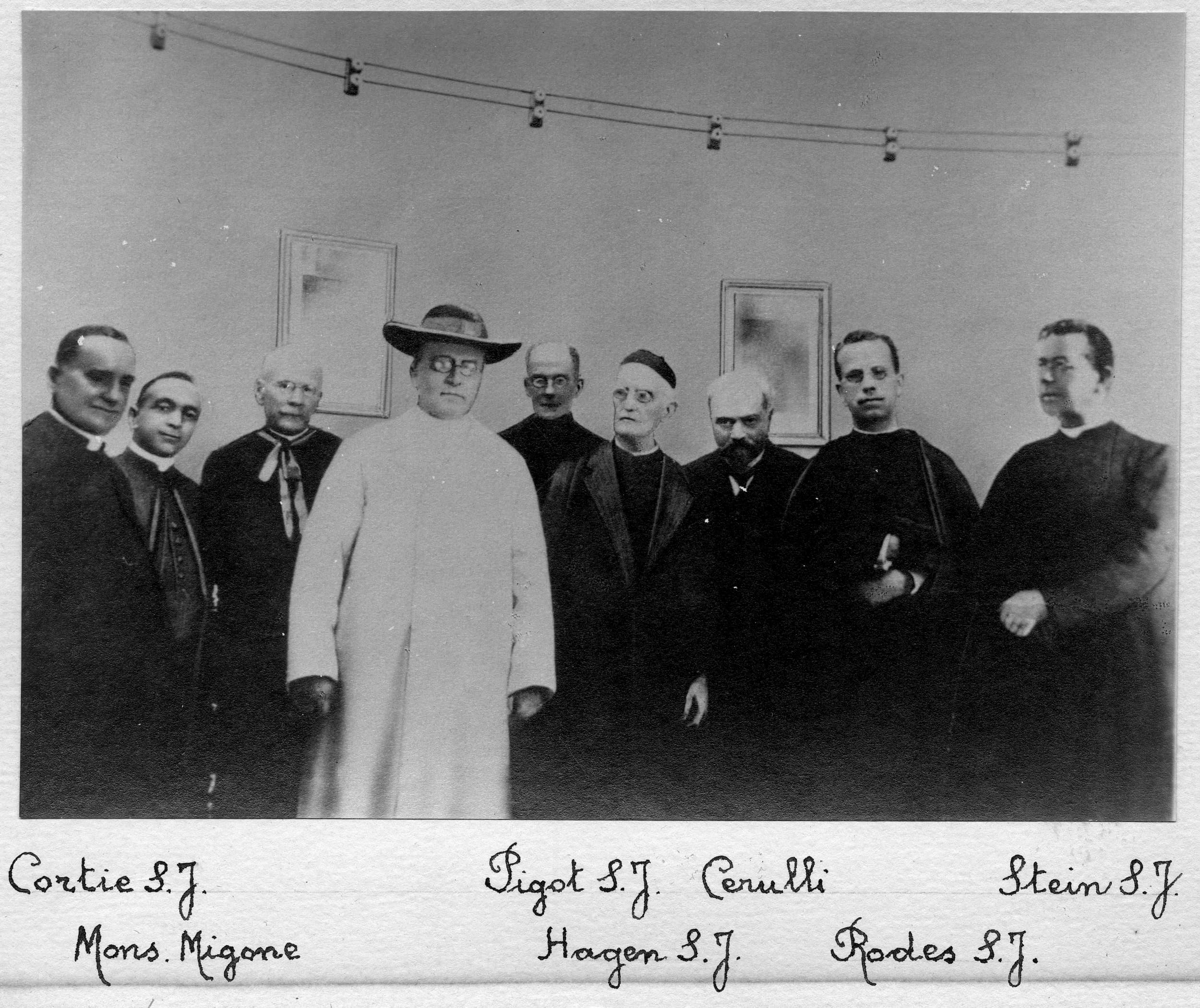 Pope Pius XI with Members of the Specola