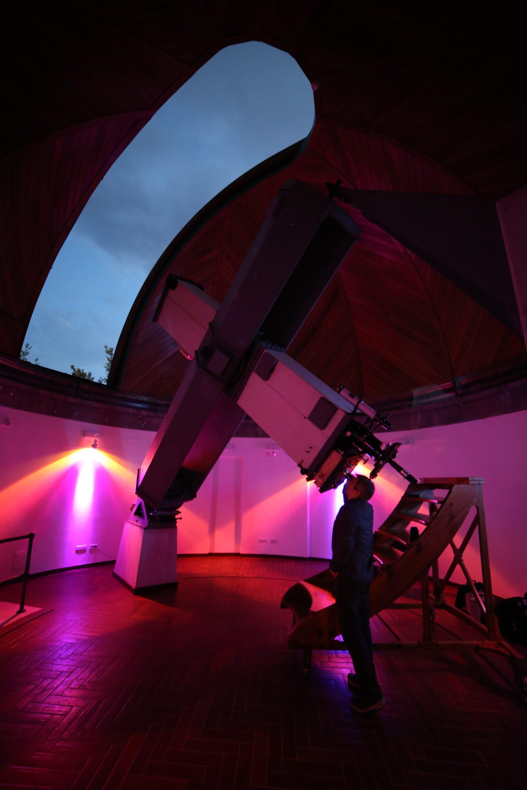 "Restored ""Carte du Ciel"" Telescope"