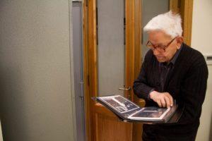 Fr. Sabino Maffeo S.J., archivist emeritus