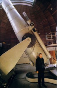 The Vatican Schmidt Telescope, Hargreaves and Thomson