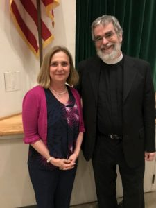 Br. Guy Consolmagno speaking at Holy Family Parish, South Pasadena, CA