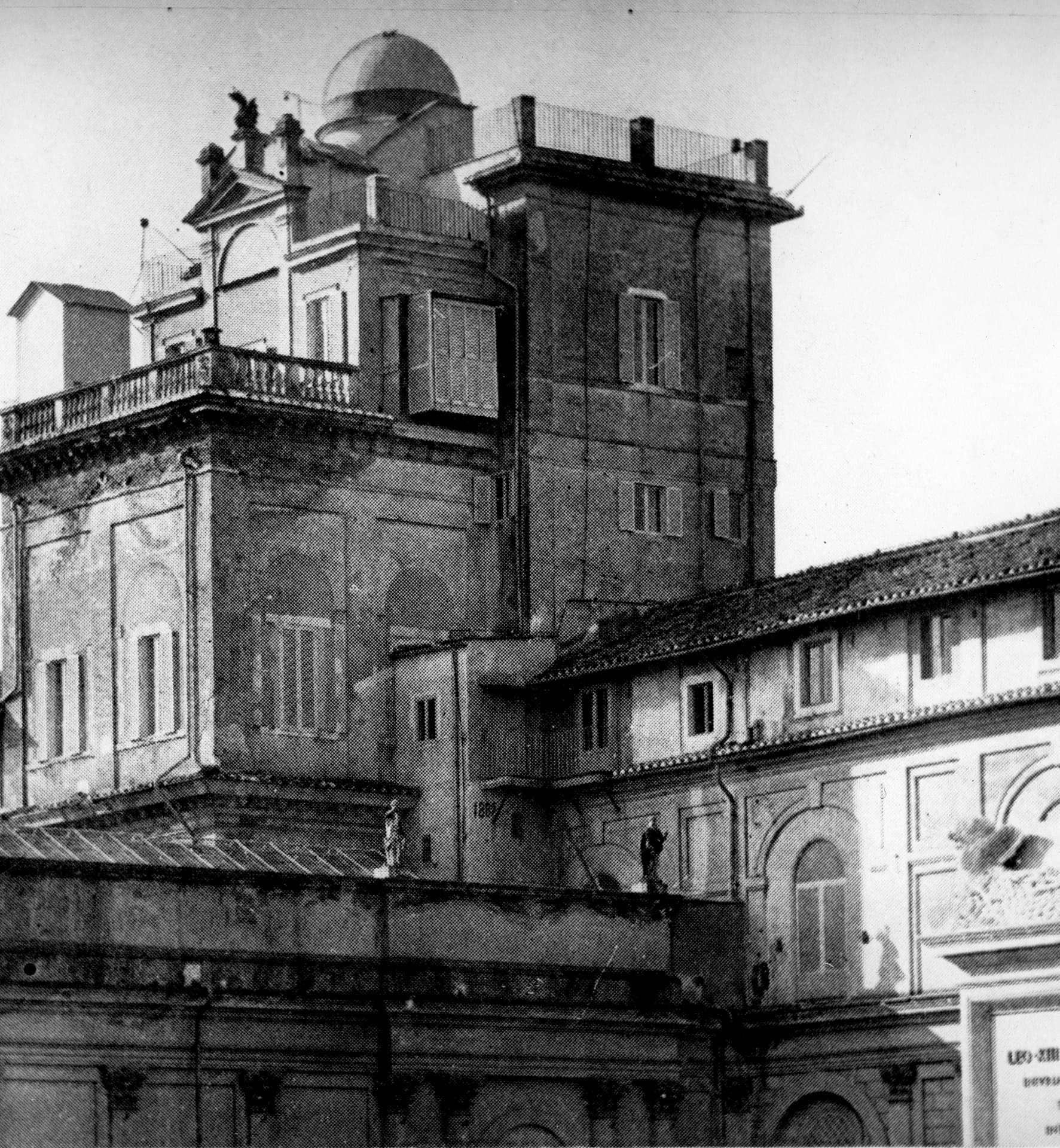 The Specula Vaticana in the Tower of the Winds within the Vatican