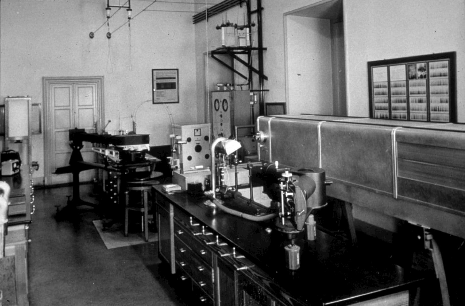 Spectrochemical Laboratory of the Vatican Observatory, 1