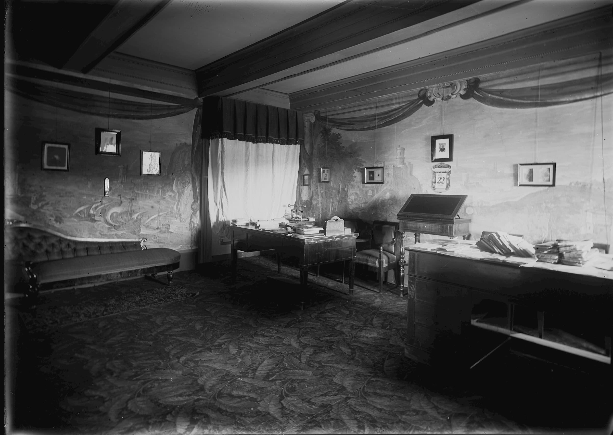 Office of Fr. Giuseppe Lais, circa 1900