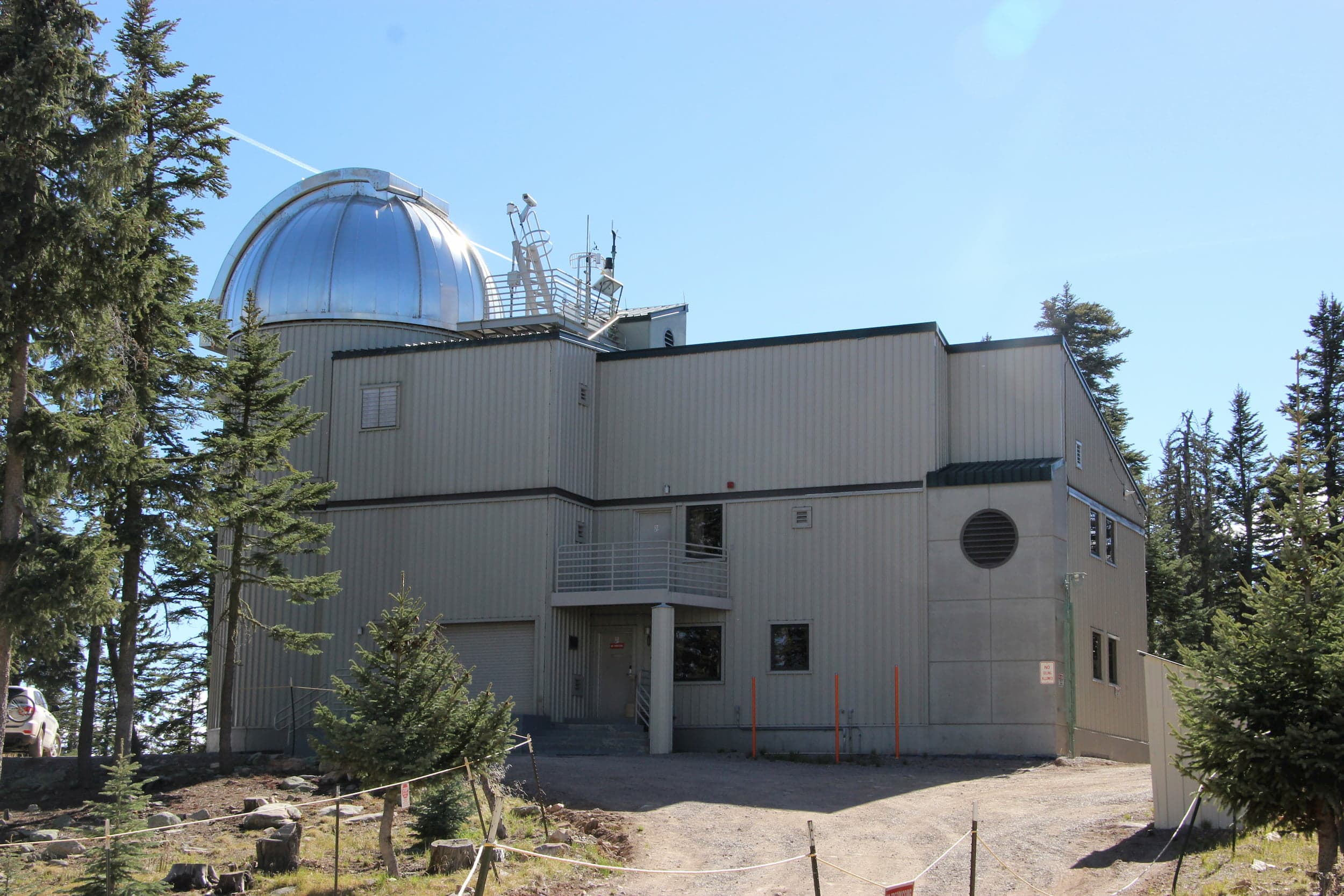 Vatican Observatory Telescope Exterior