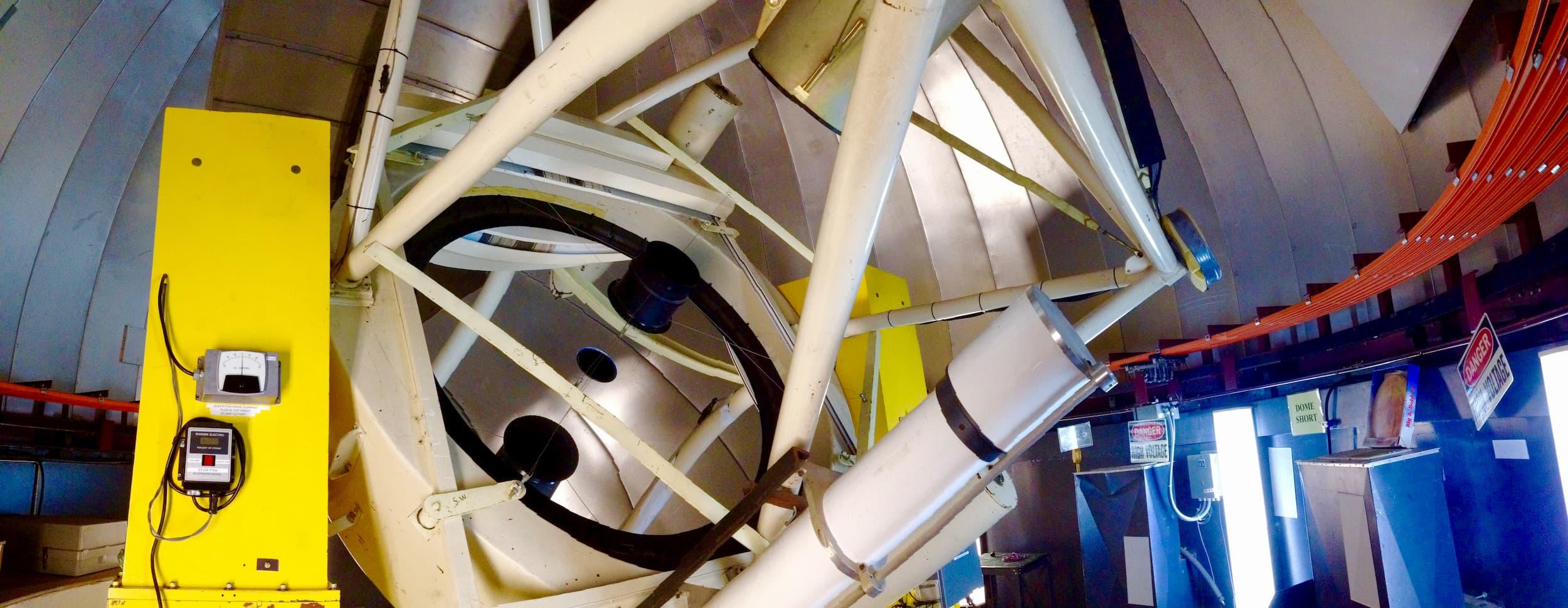 Vatican Advanced Technology Telescope (VATT) horizontal view