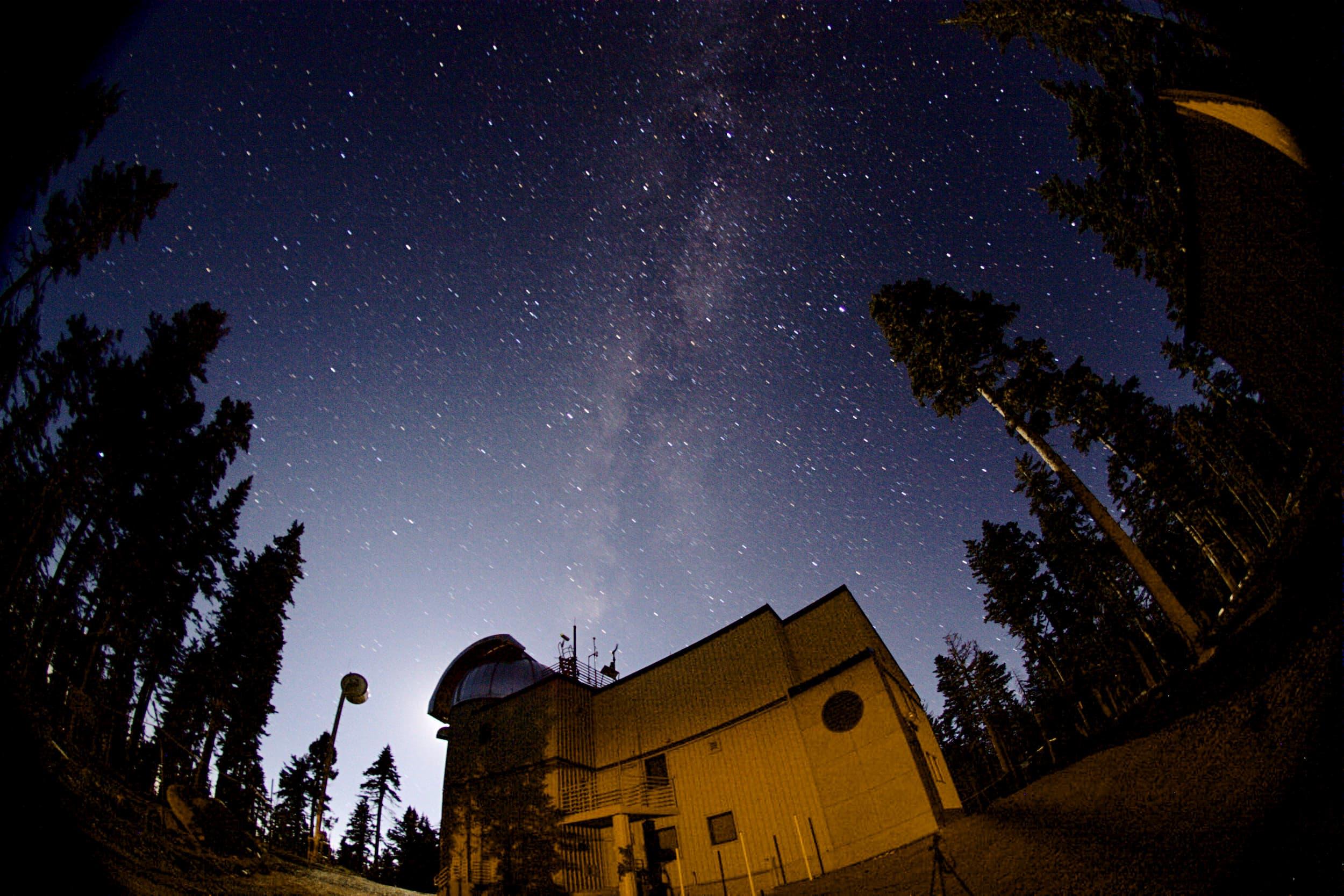 Vatican Advanced Technology Telescope (VATT) at Night