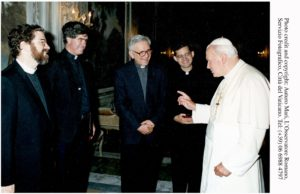 Pope John Paul II with Vatican Observatory Team