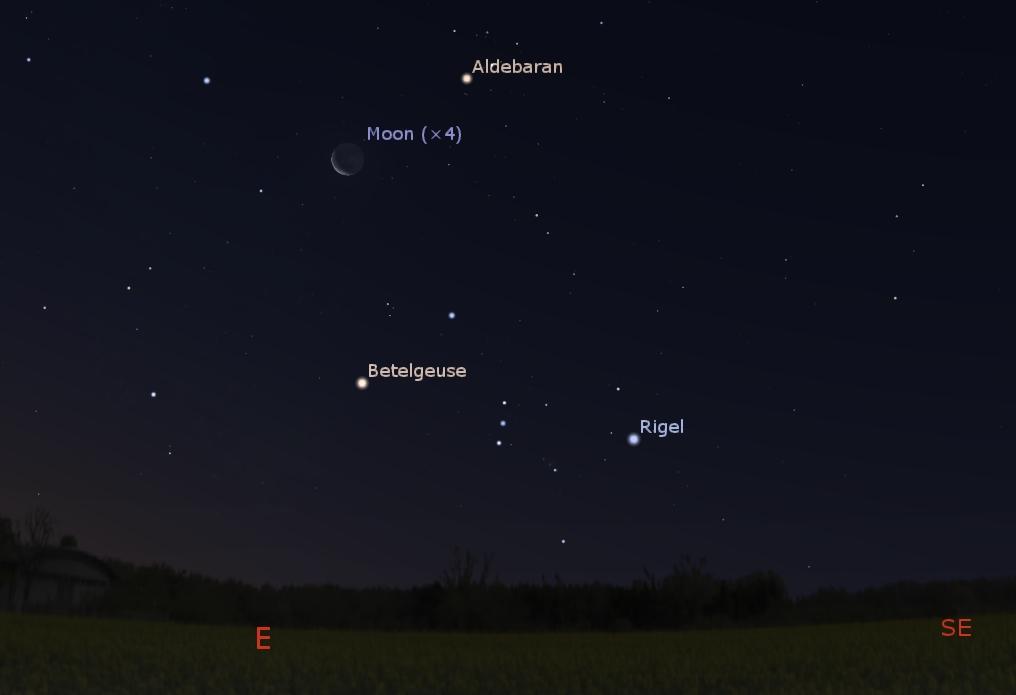Eastern predawn sky Aug. 7, 2018