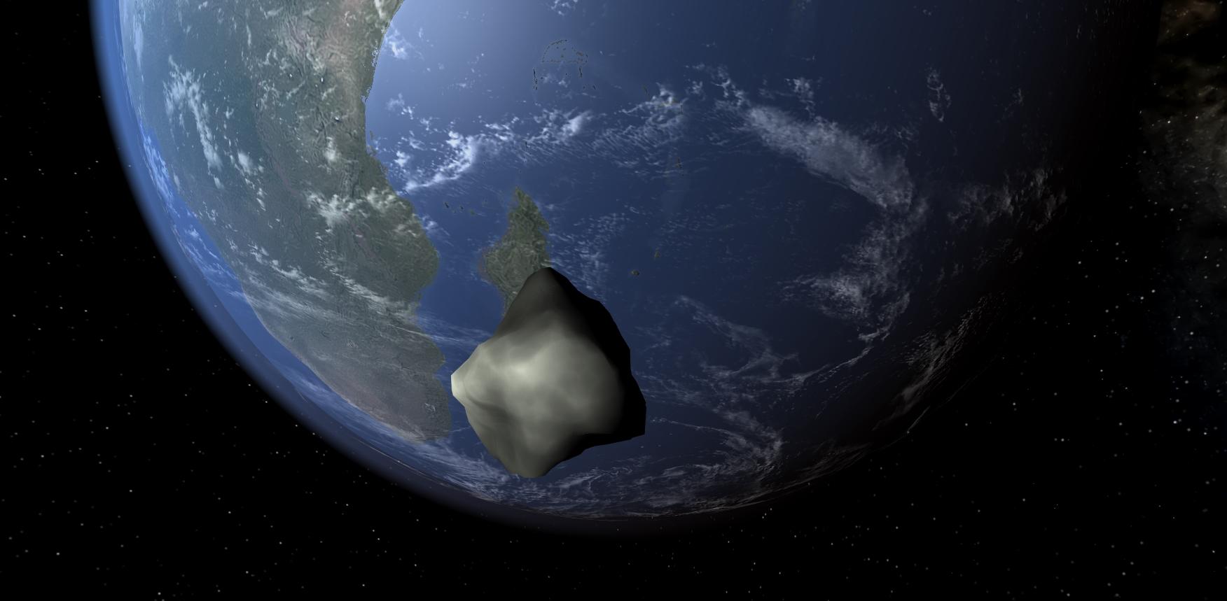 Asteroid 2018 LA