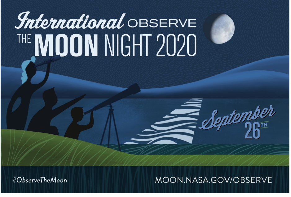 International Observe the Moon Night 2020