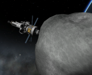 Asteroid redirect mission, made in collaboration with NASA.
