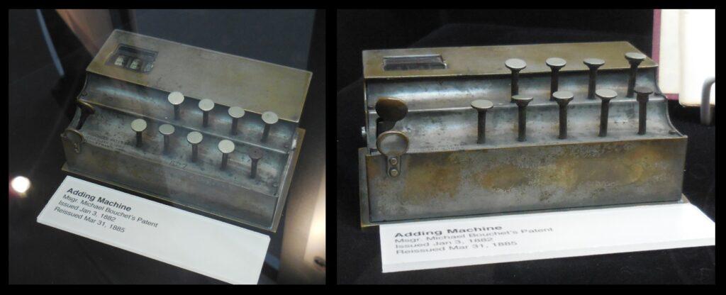Bouchet's adding machine.