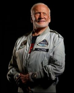 Image of Buzz Aldrin - credit Rebecca Hale National Geographic
