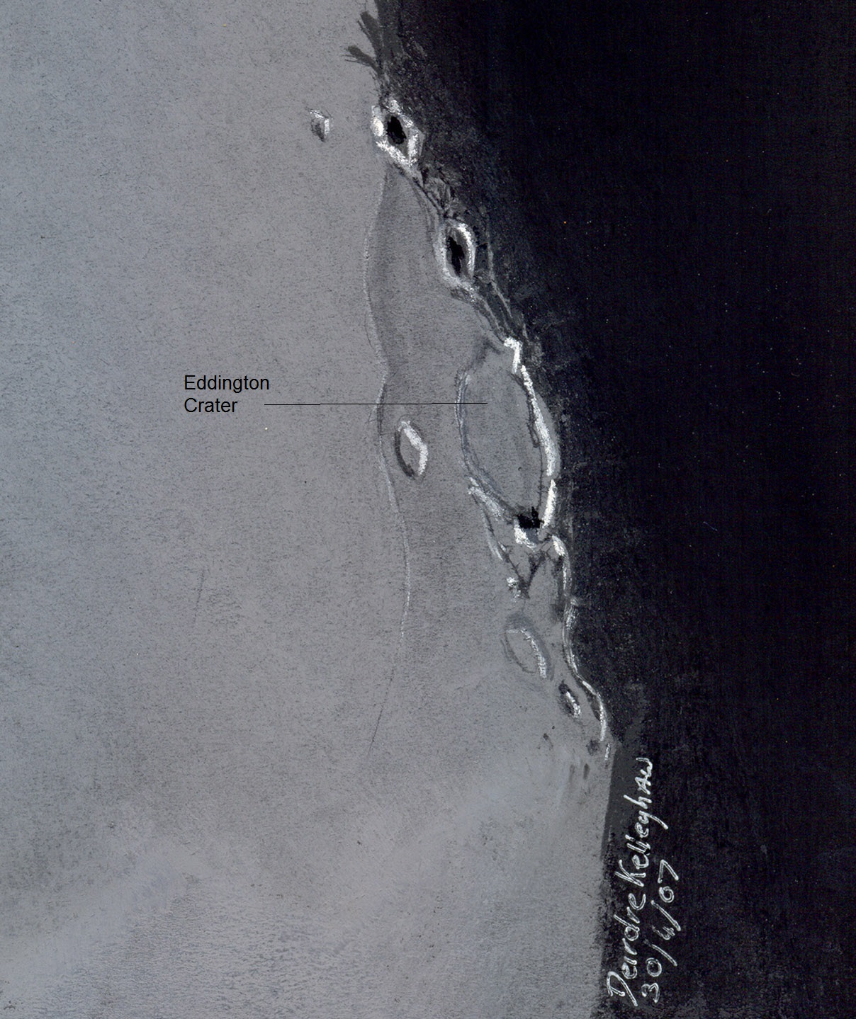 Eddington Crater