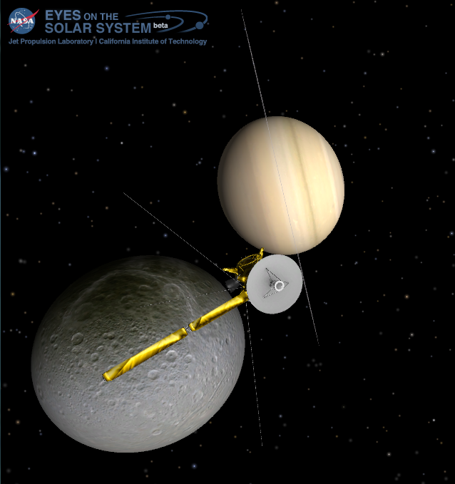 Cassini Encounter with Dione 17 Aug 2015 Close-up