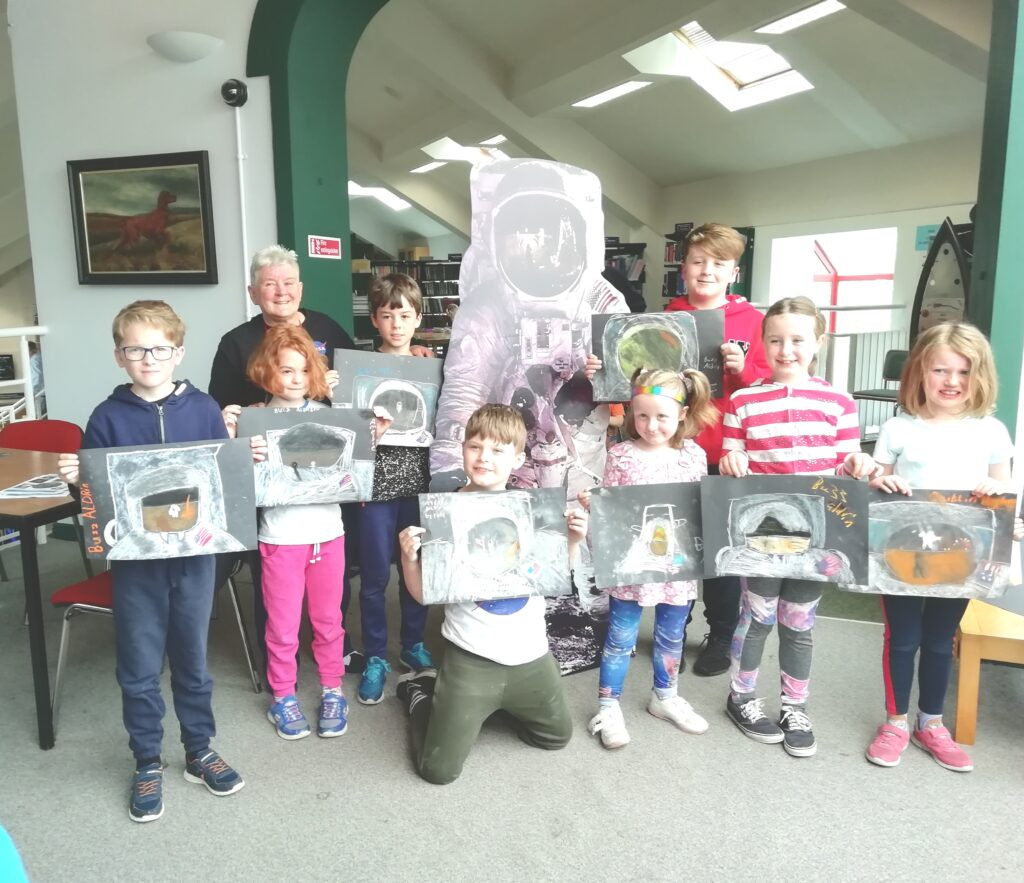 Great drawings created in Castlebar Library