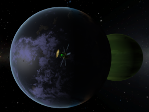 Exploring other worlds in Kerbal Space Program.