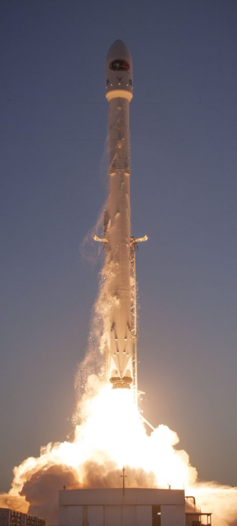 SpaceX Falcon 9 Rocket Launch. Credit: SpaceX
