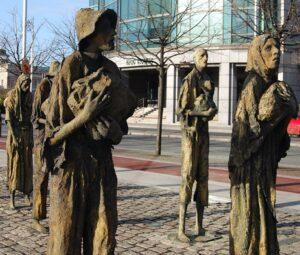 Dublin Famine Memorial.
