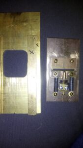 Photoheliograph final shutter assembly
