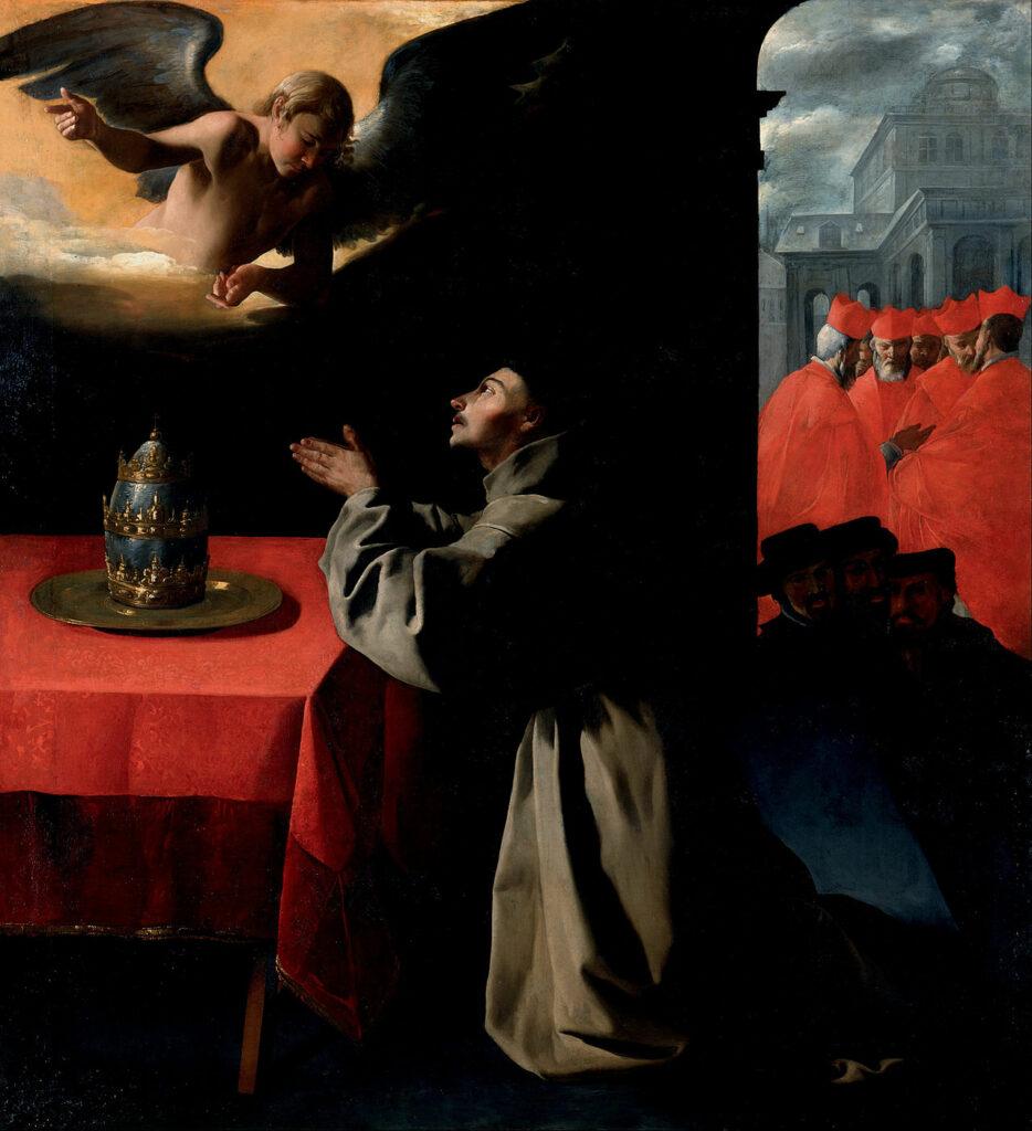 The Prayer of Saint Bonaventure. Image Credit: wikipedia