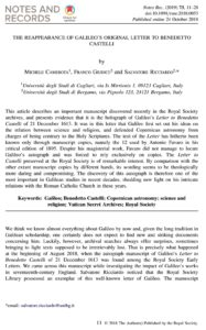 The title page of the Camerota, Giudice, and Ricciardo paper. To enlarge, click image or click here.