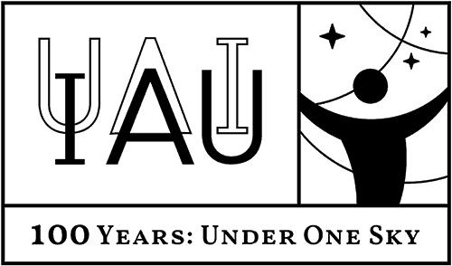 IAU100 Logo