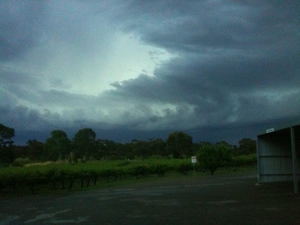 Not an astronomer's dream... clouds of Australia