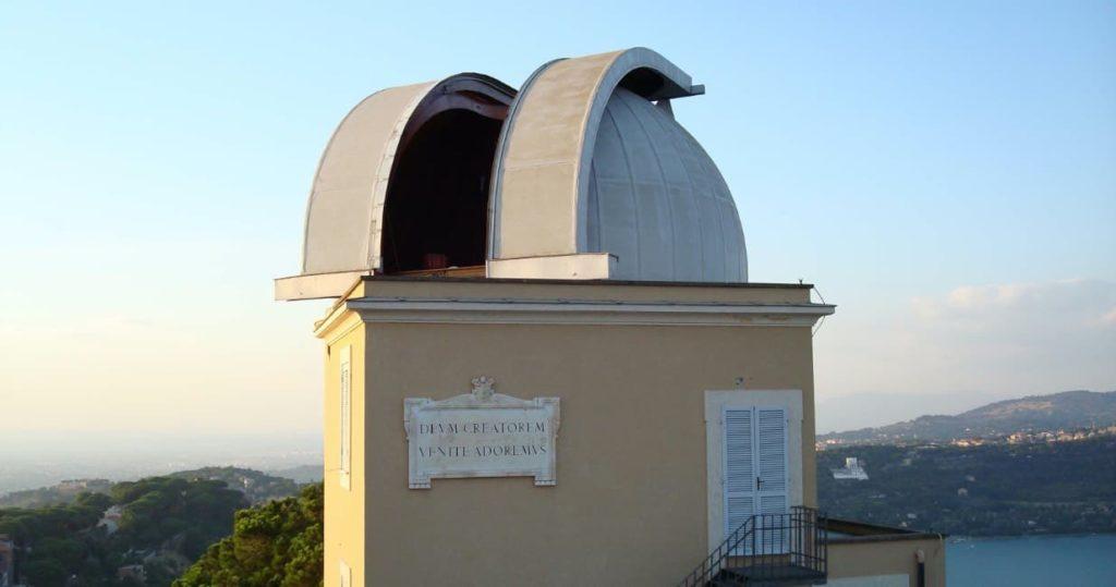 The Double Astrograph Dome at Castel Gandolfo