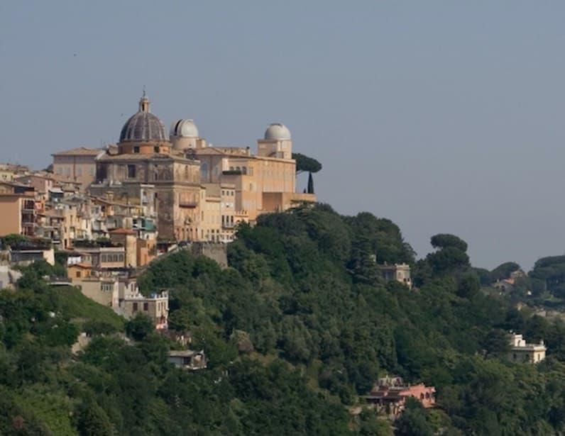 A view of Castel Gandolfo